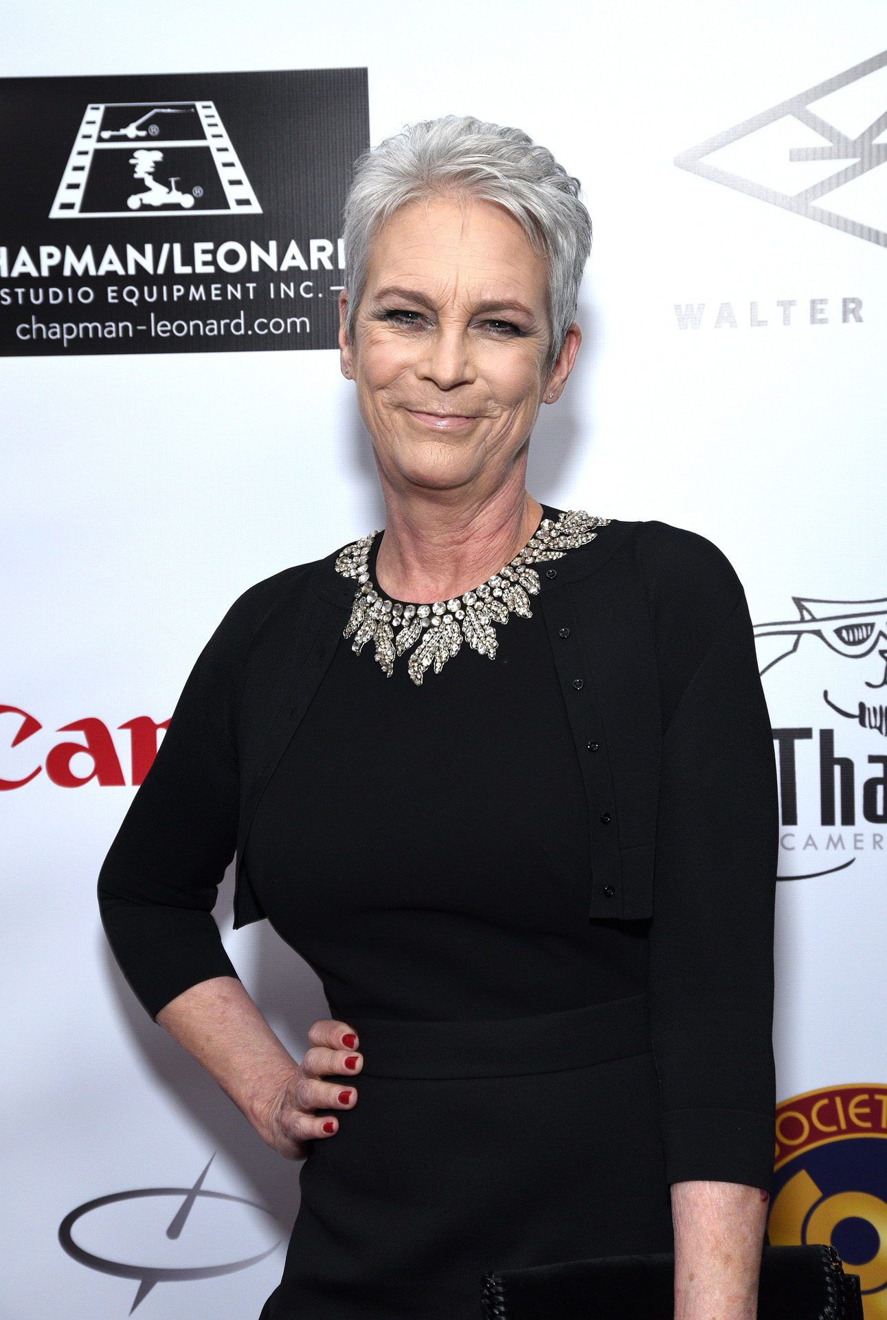 HOLLYWOOD, CALIFORNIA - JANUARY 18: Actress Jamie Lee Curtis attends the Society of Camera Operators Lifetime Achievement Awards 2020 at Loews Hollywood Hotel on January 18, 2020 in Hollywood, California. Michael Tullberg/Getty Images/AFP