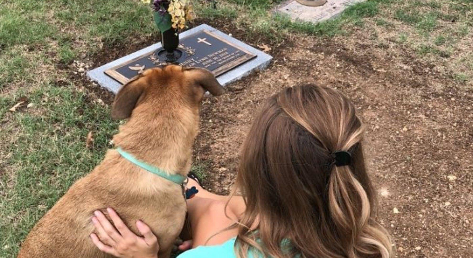 Nővére kutyájának köszönhetően élte túl a gyászt