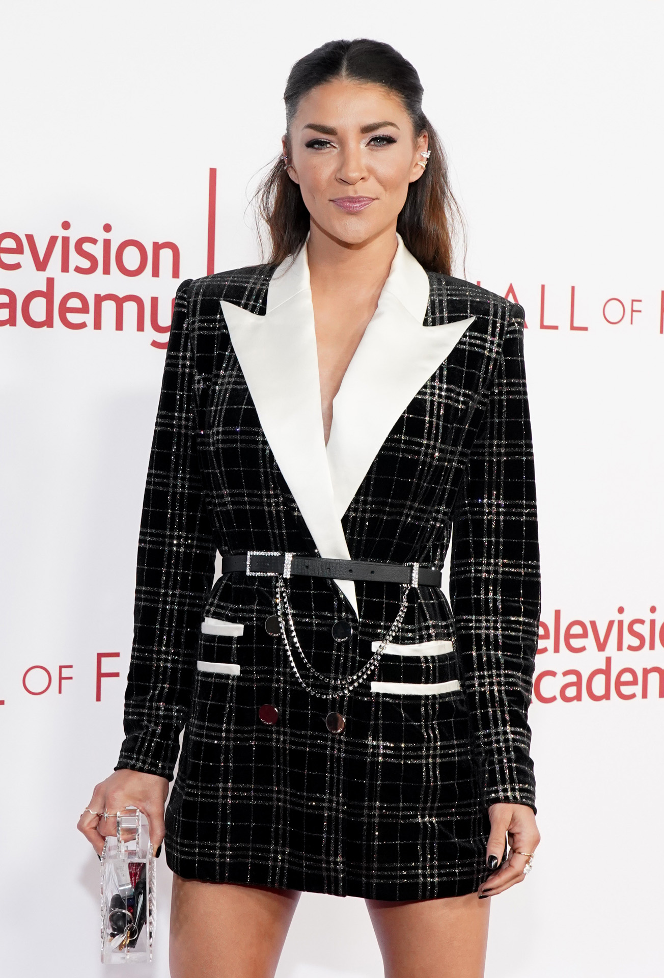 NORTH HOLLYWOOD, CALIFORNIA - JANUARY 28: Jessica Szohr attends the Television Academy's 25th Hall Of Fame Induction Ceremony at Saban Media Center on January 28, 2020 in North Hollywood, California. Rachel Luna/Getty Images/AFP