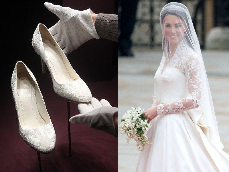 Katalin hercegné esküvői cipői