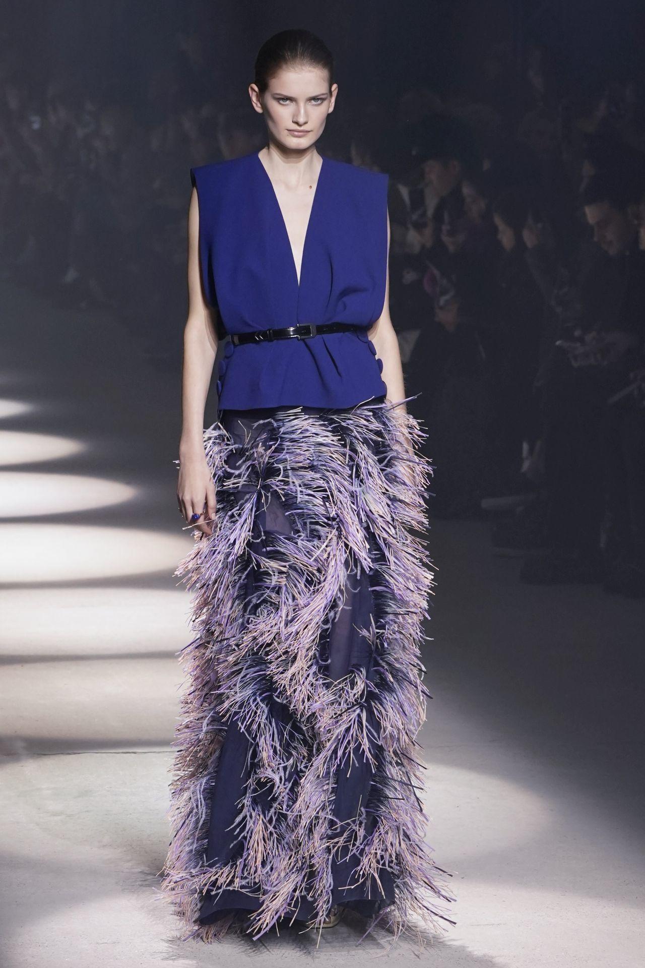 Givenchy kék ruha