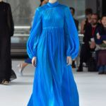Carolina Herrera kék ruha