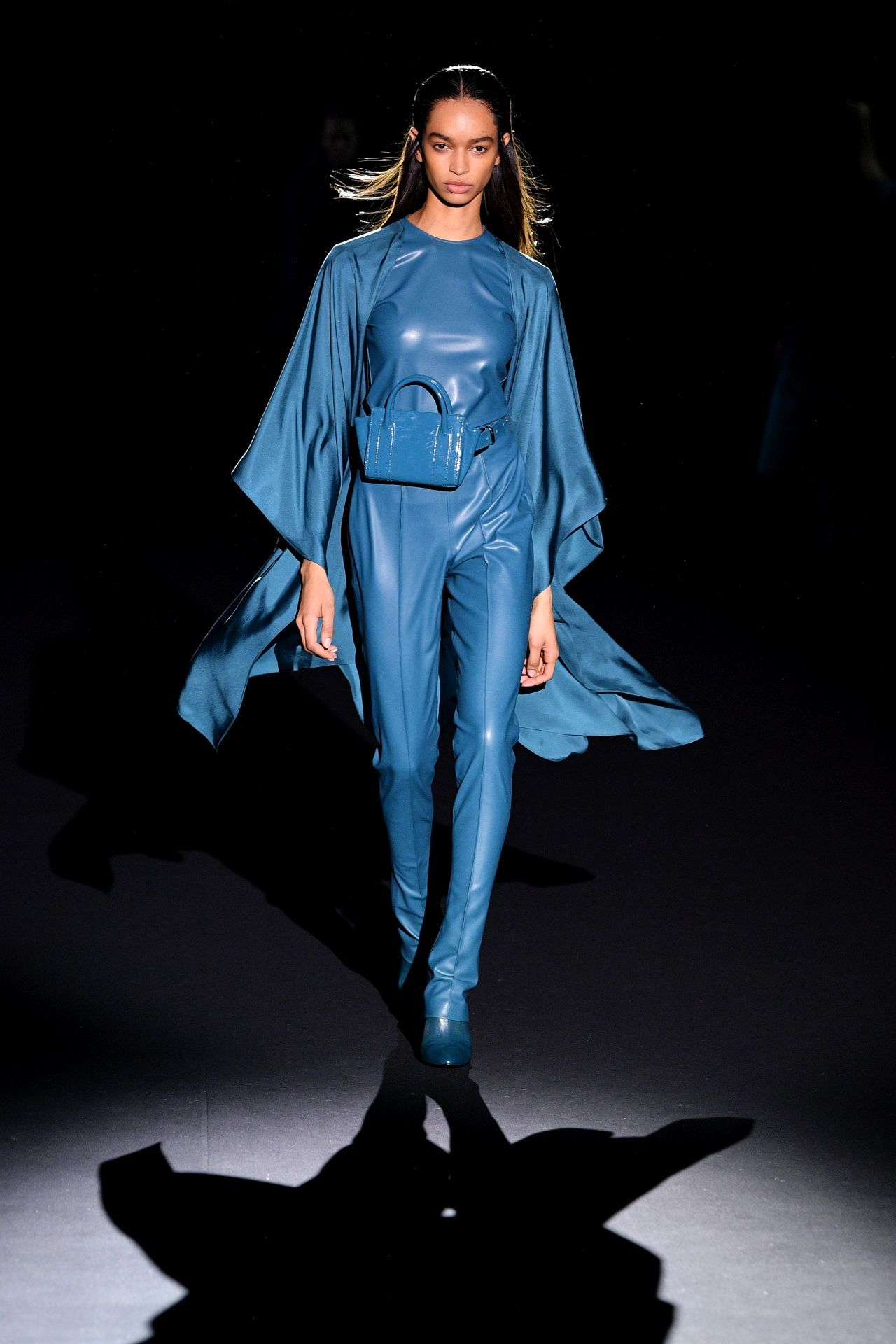 Sally LaPointe kék ruha