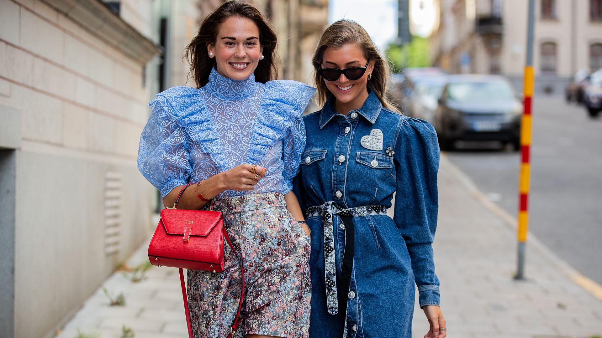 Őszi divat: kék ruhák
