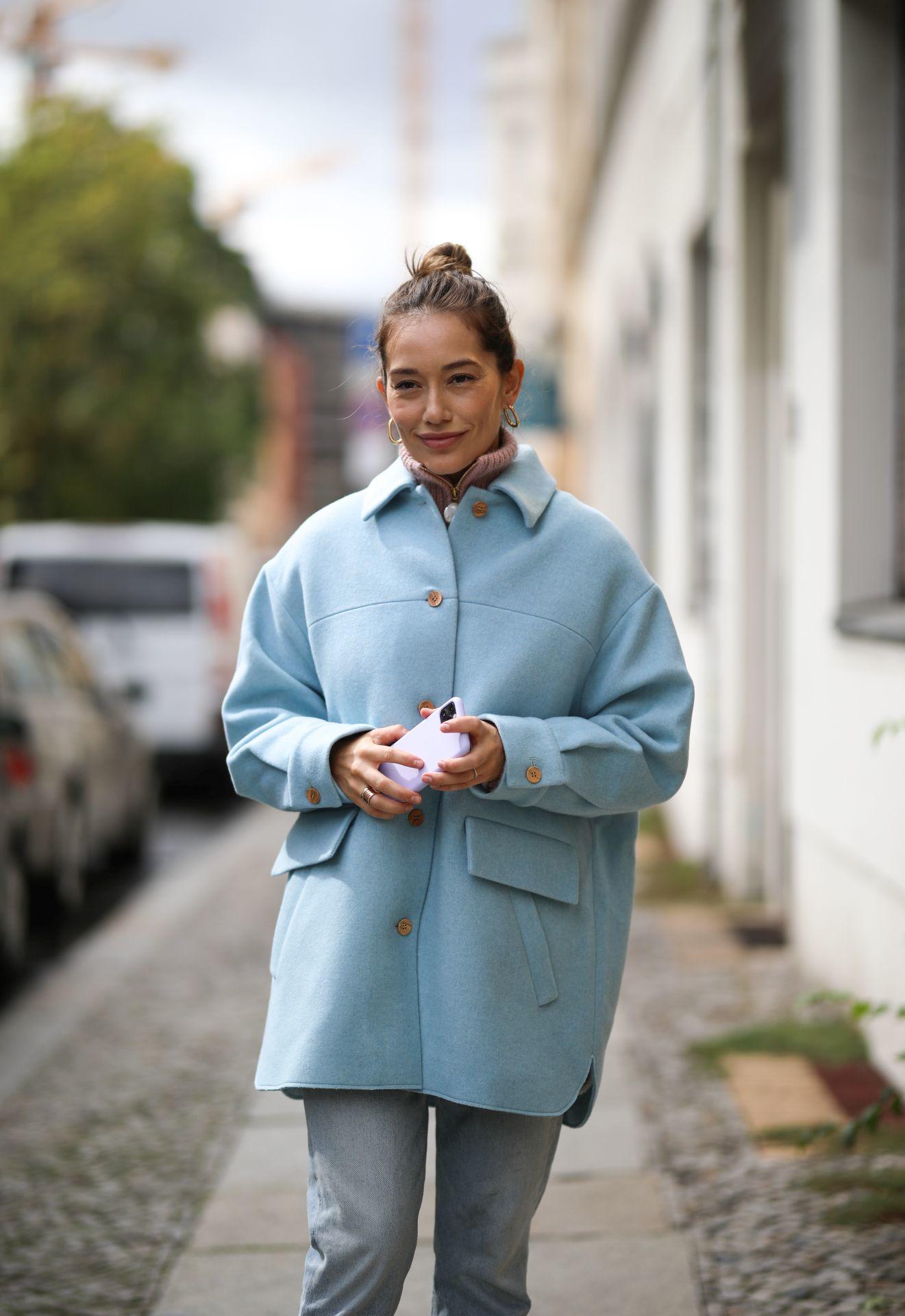 kék Aeron kabát