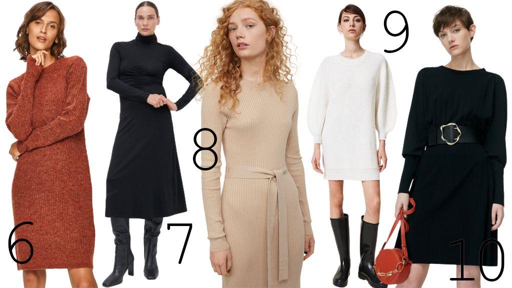 Boltmustra: kötött ruhák őszre