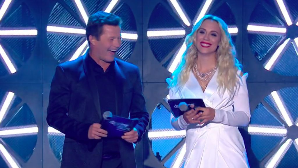 Lekai-Kiss Ramóna és Stohl András a Dancing with the Stars műsorvezetői