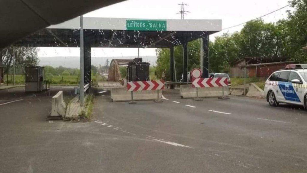 Lezárták a letkési határátkelőt