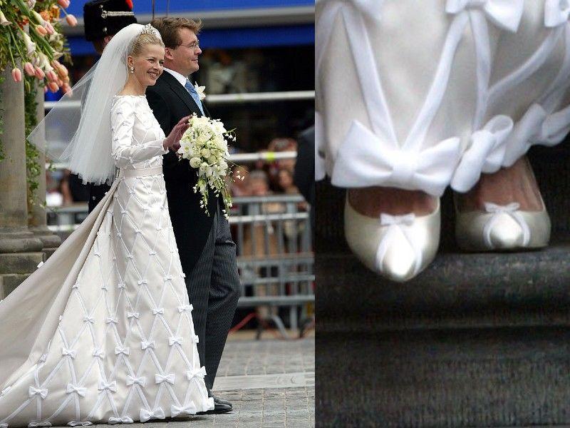 Mabel hercegné esküvői cipői