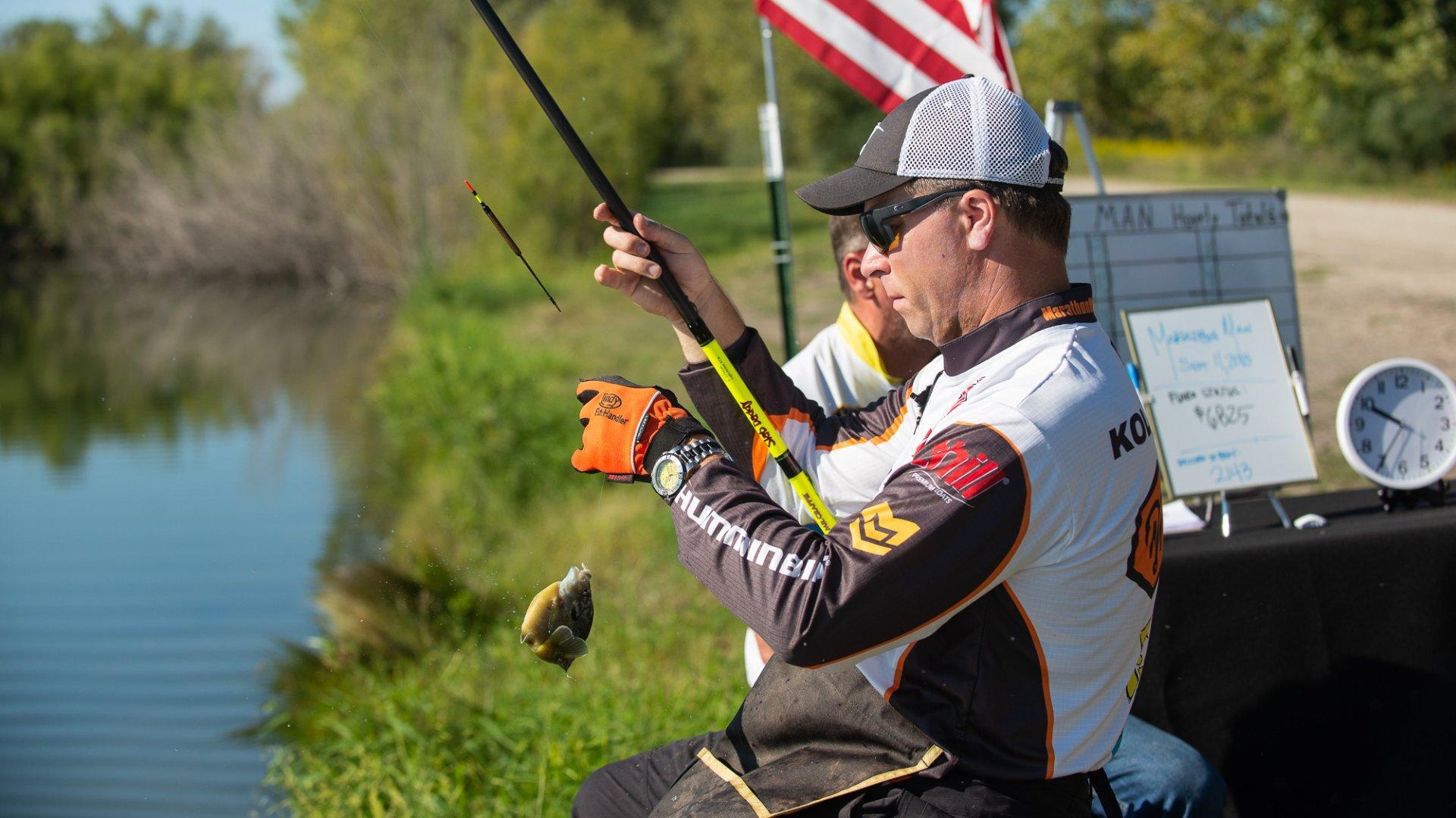 Jeff Kolodzinski rekorder horgász