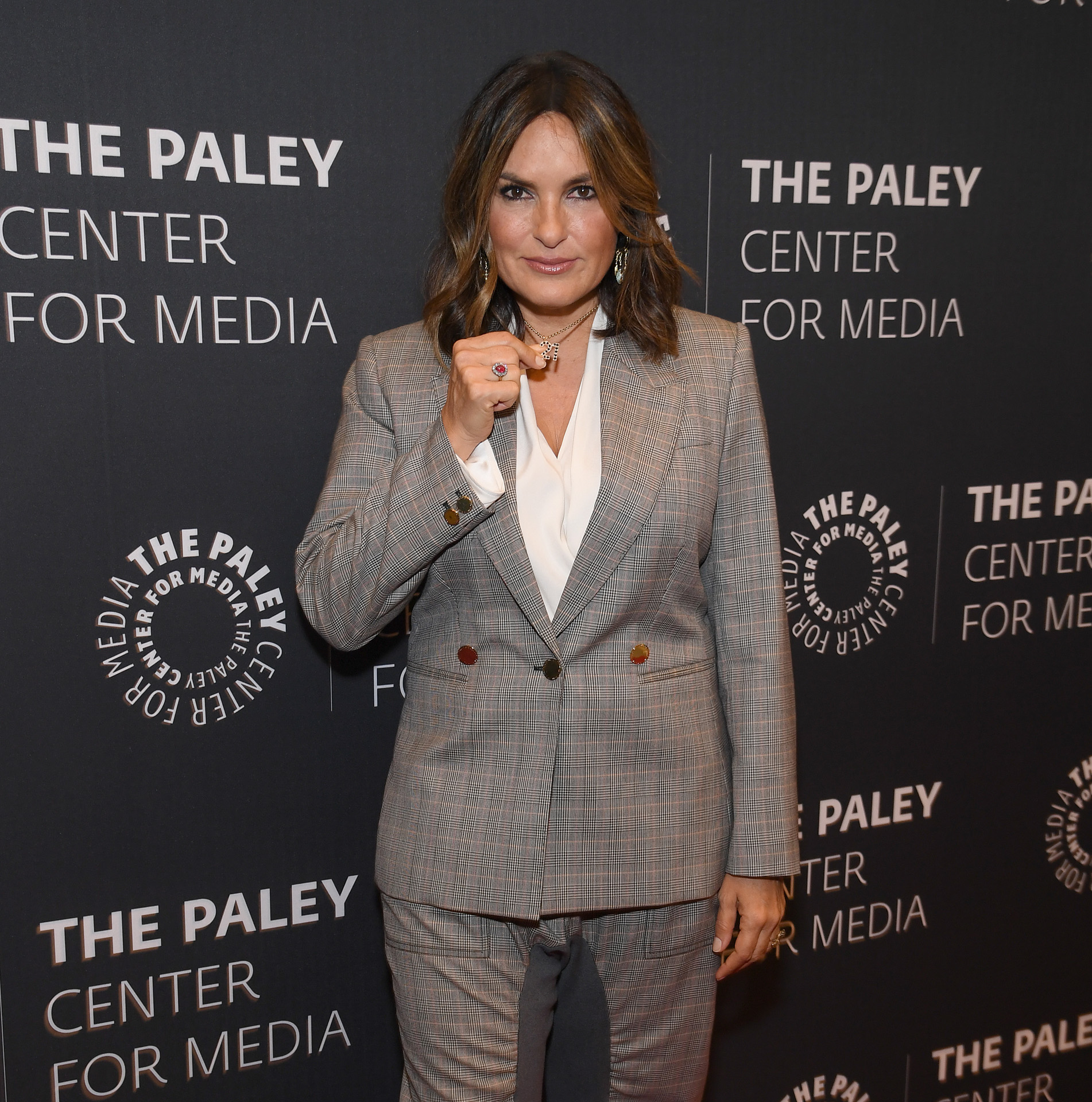 """NEW YORK, NEW YORK - SEPTEMBER 25: Mariska Hargitay attends the """"Law & Order: SVU"""" Television Milestone Celebration at The Paley Center for Media on September 25, 2019 in New York City. Dimitrios Kambouris/Getty Images/AFP"""