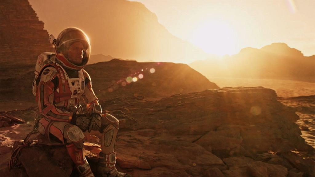 Képkocka A marsi című filmből