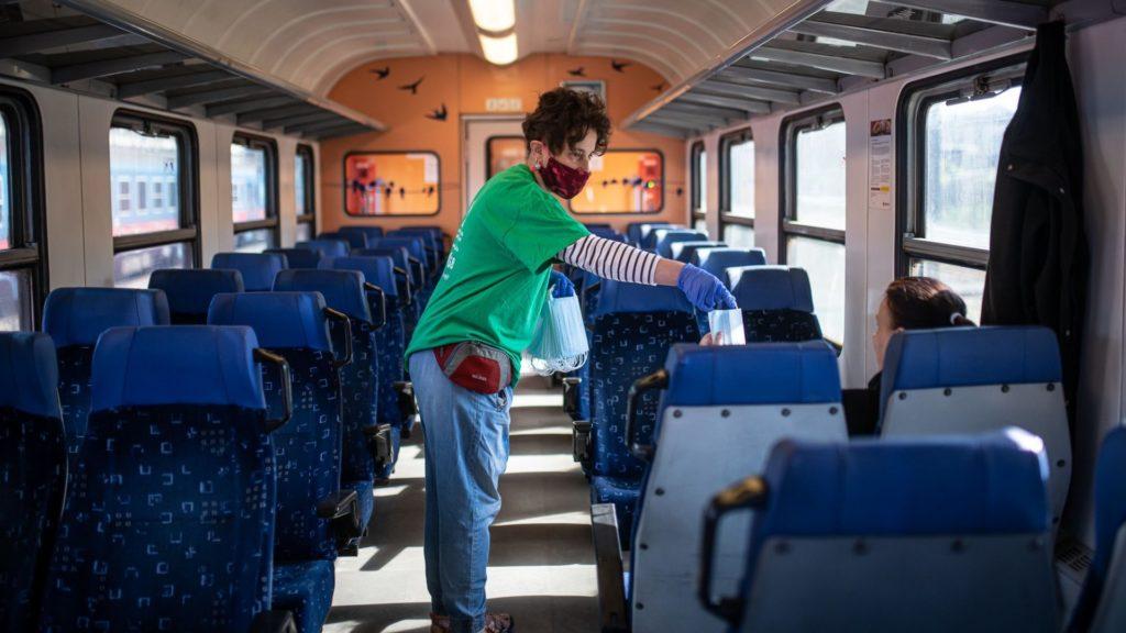 Kötelező maszkviselés a vonatokon