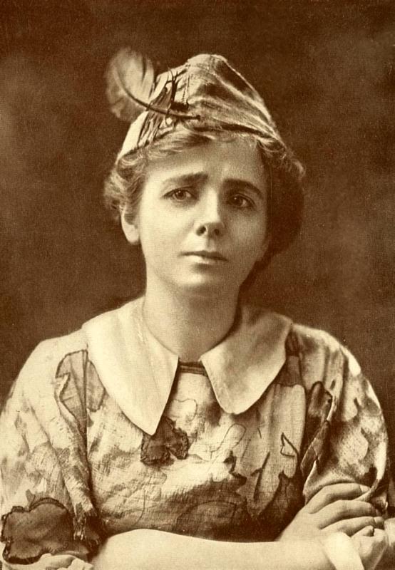Maude Adams Pán Péter szerepében