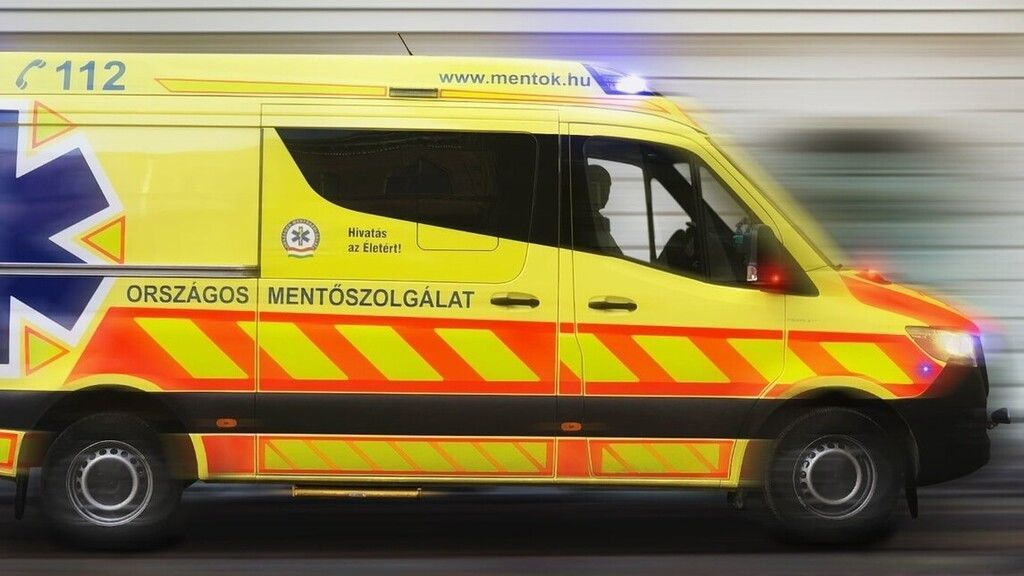 Mekk mesterhez riasztották a mentőket