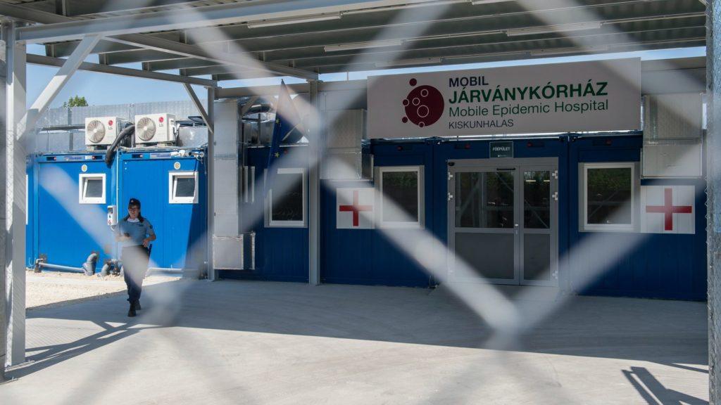 Kiskunhalasi mobil járványkórházat