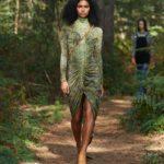 Burberry zöld ruha