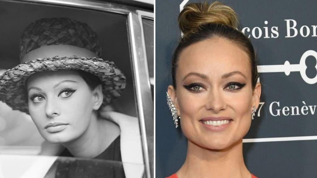 Sophia Loren cicaszem smink