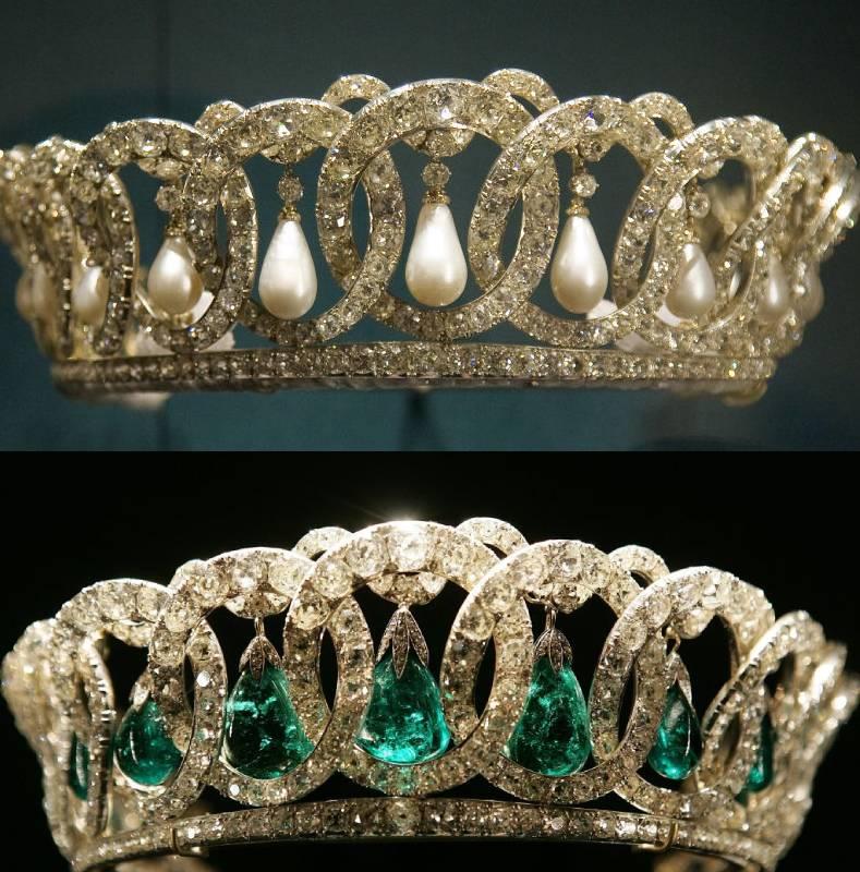 A Vlagyimir tiara