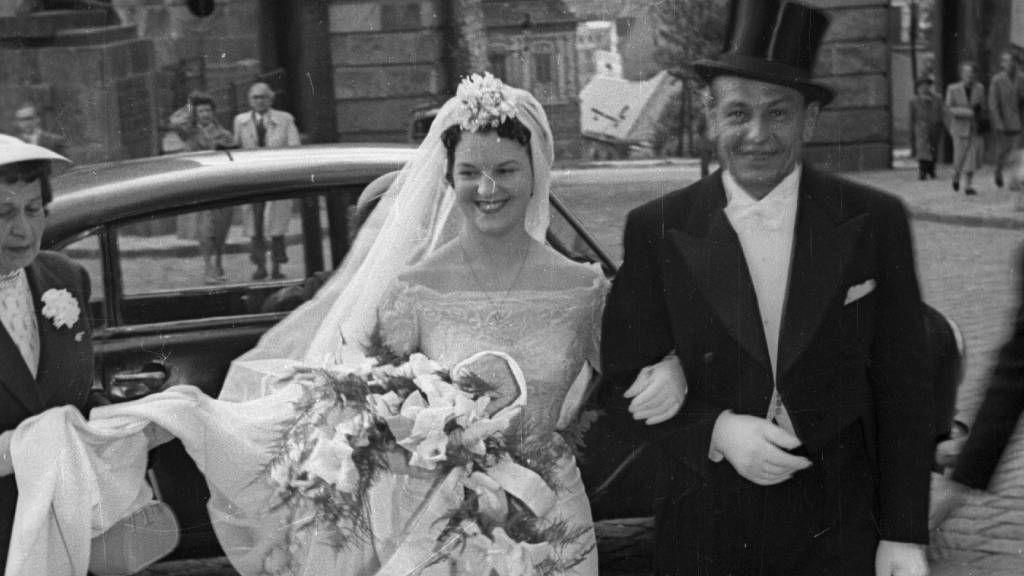 menyasszony az 50-es évekből