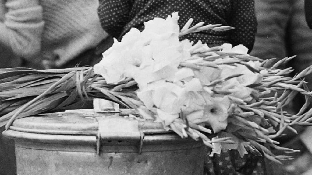 Retró virágcsokor kardvirágból