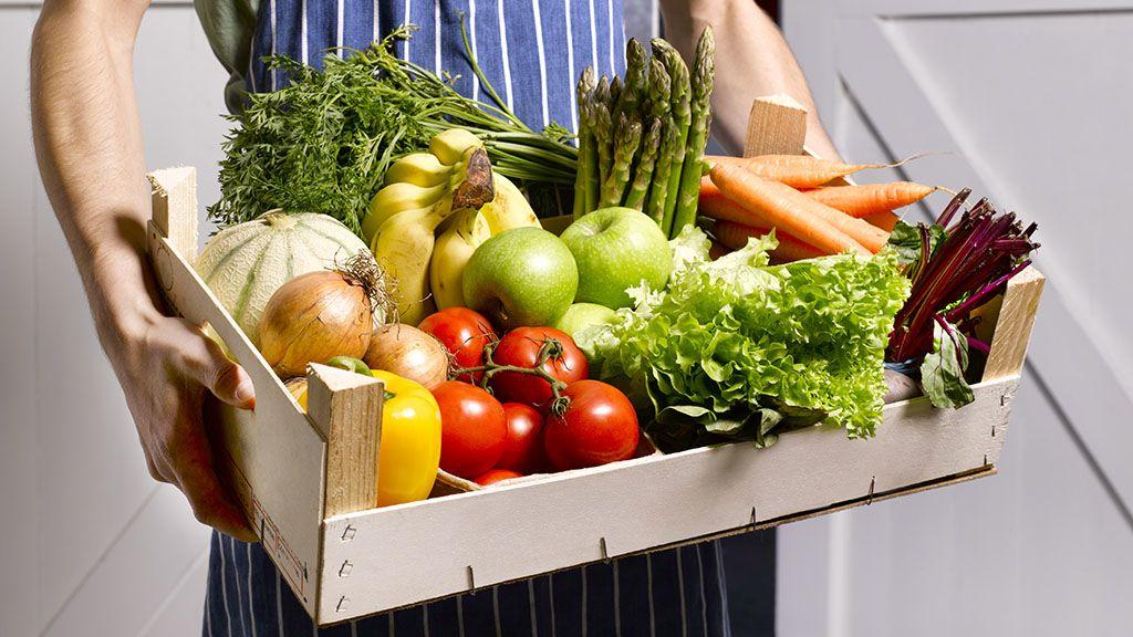 upfield organikus zöldség