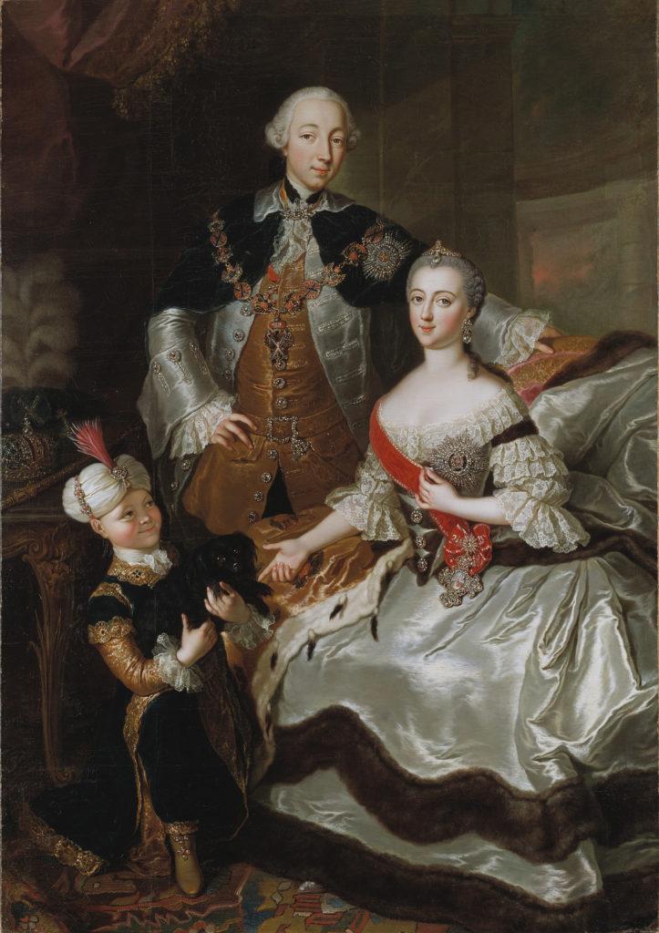 Az orosz királyi család