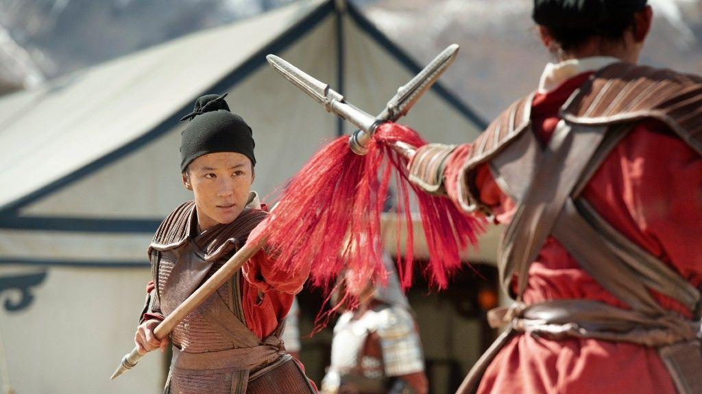 Liu Yifei a Mulan című filmben (fotó: Fórum Hungary)