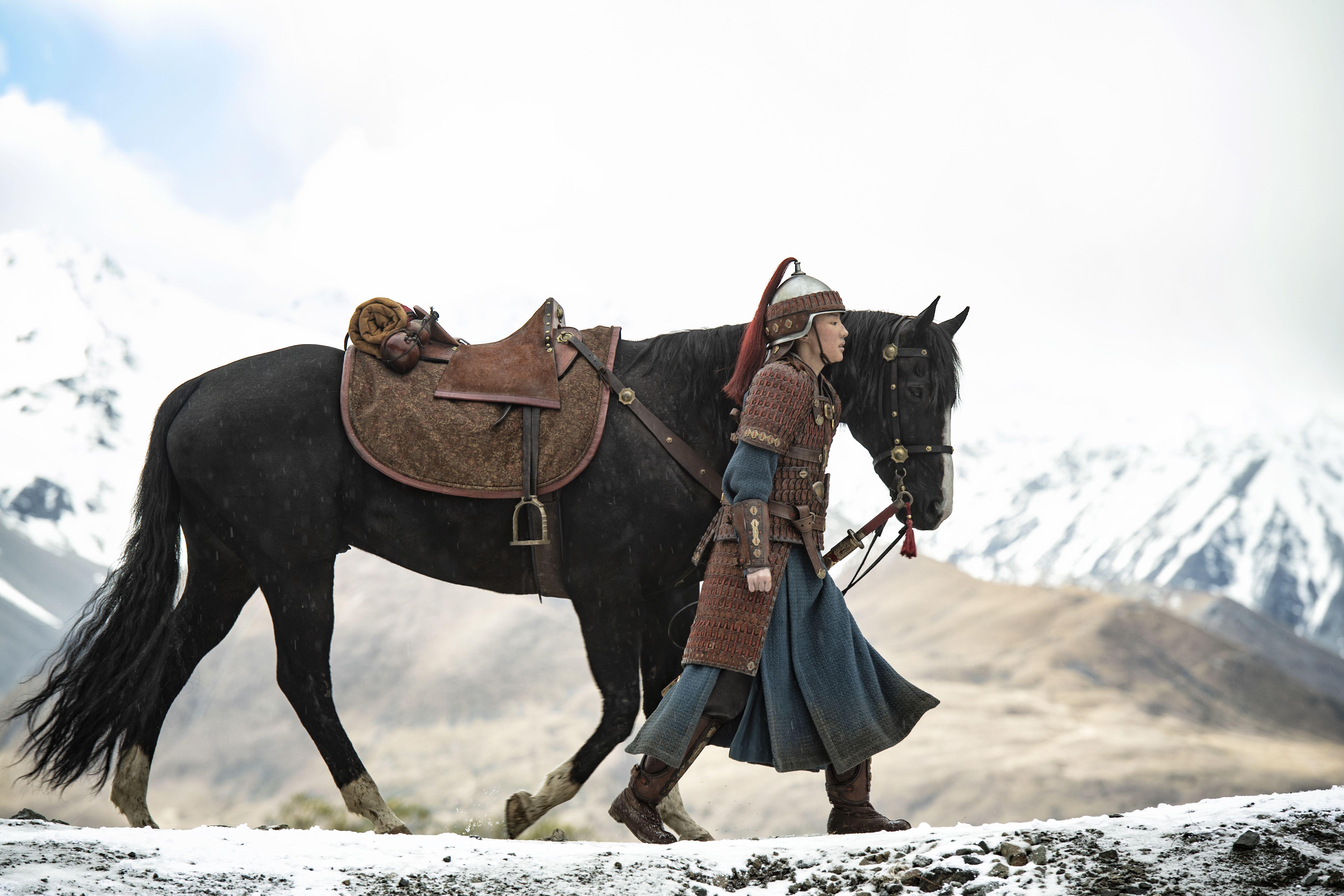 Jelenetfotó a Mulan című filmből (fotó: Fórum Hungary)
