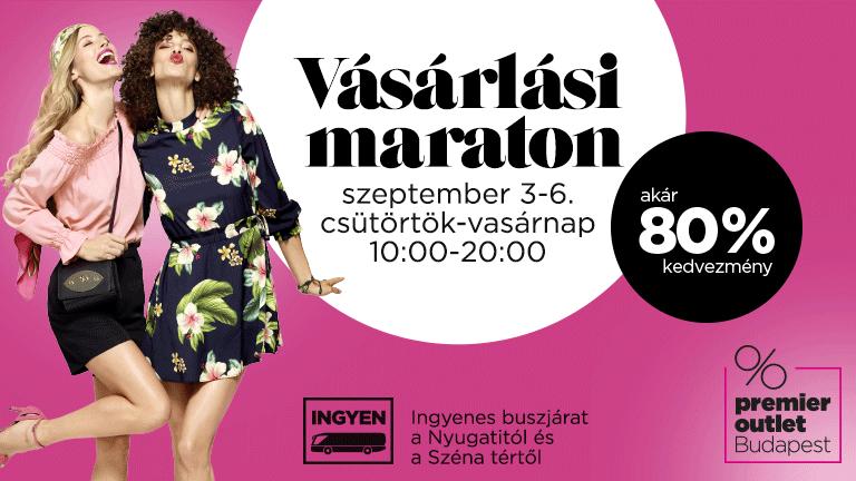 Vásárlási Maraton a Premier Outletben (x)