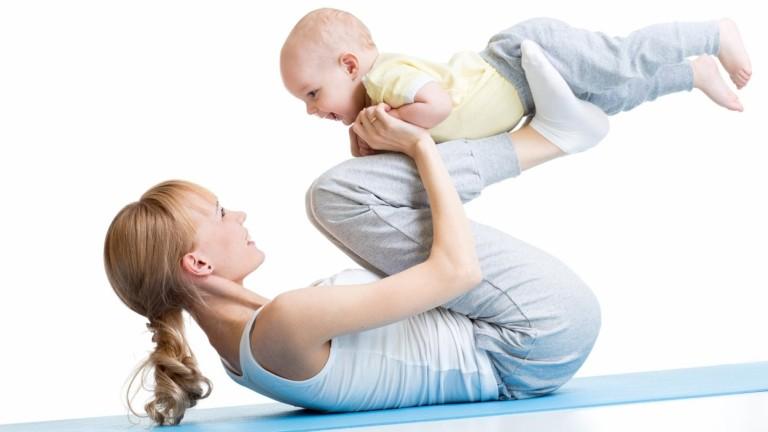 A sportra és mozgásra szüksége van a szervezetnek, de szülés után csak óvatosan és lehetőleg szakértő felügyelete mellett kezdjünk újra edzeni! (fotó: profimedia.hu)