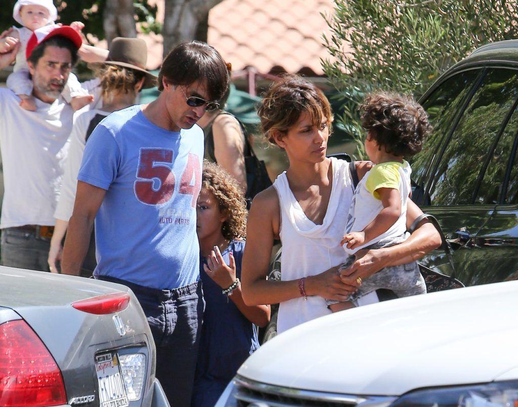 Halle Berry és családja