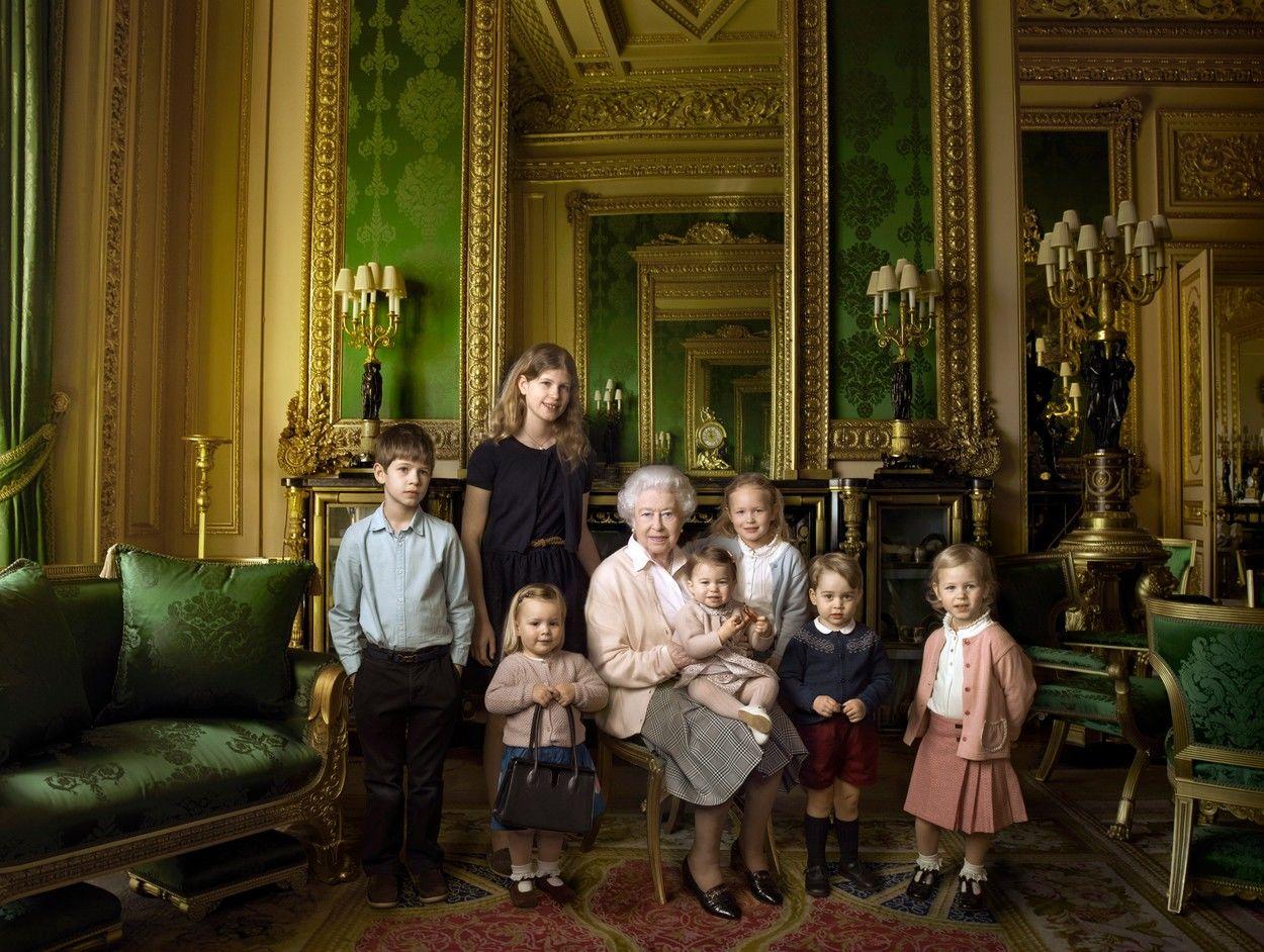 II. Erzsébet és unokái, dédunokái