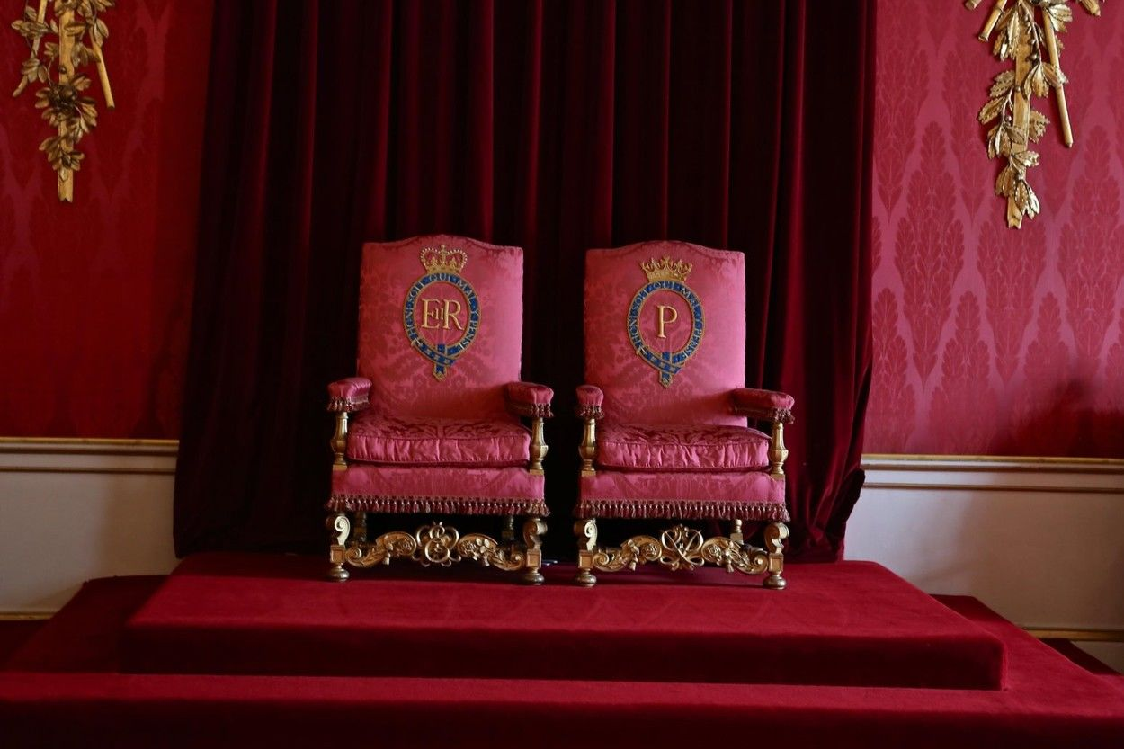 Trónterem a Buckingham-palotában