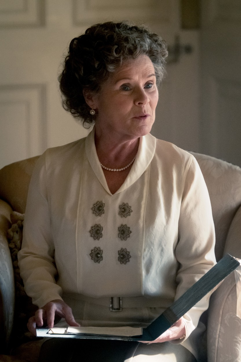 Imelda Staunton lesz II. Erzsébet