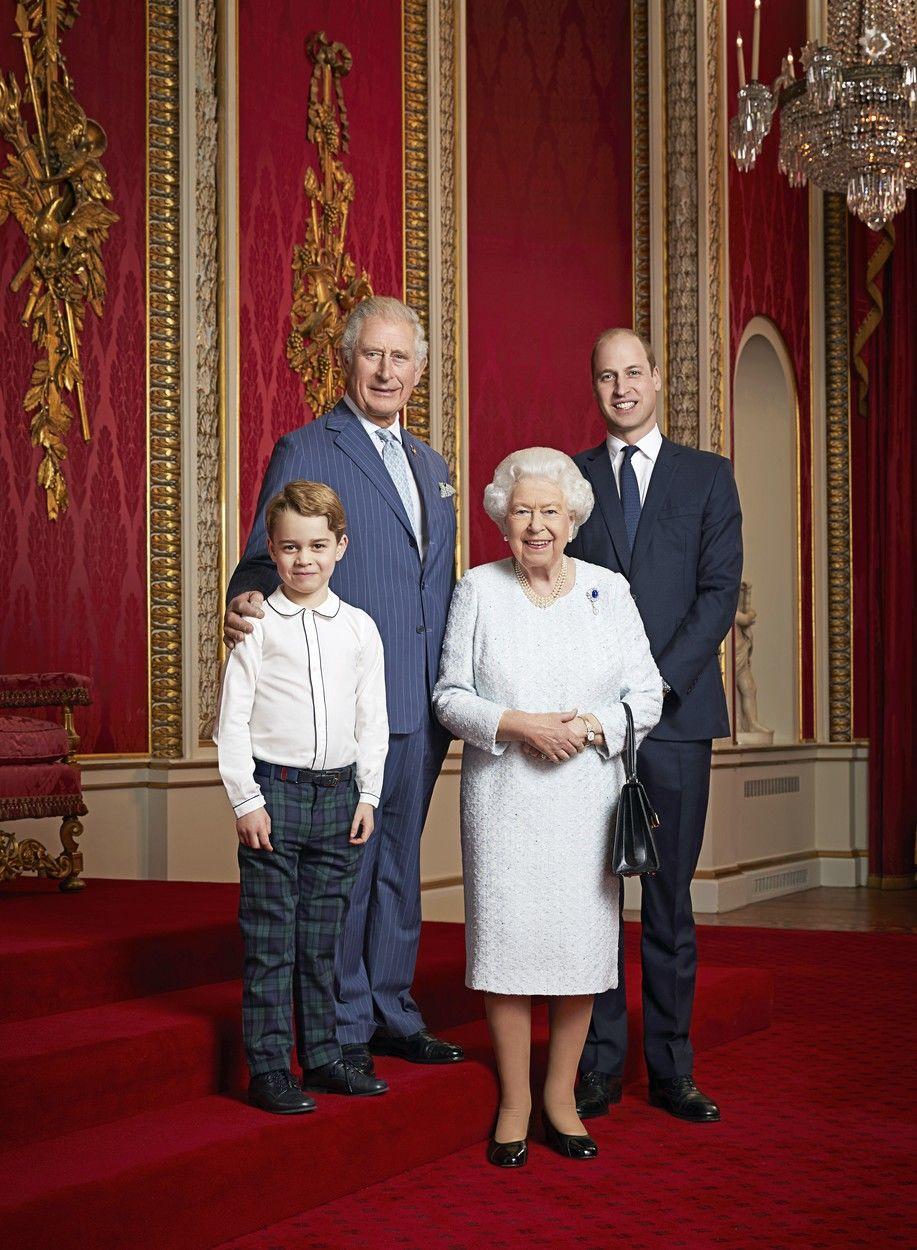 Brit királyi család trónörökösök