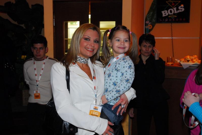 Rába Tímea és kislánya, Nina régen