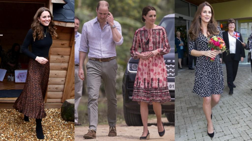 Katalin hercegné fast fashion ruhái