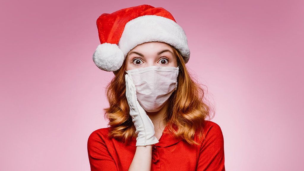 A koronavírus ihlette ezt a karácsonyfadíszt