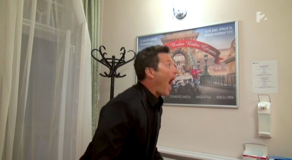 Stohl András meglepődött, amikor meglátta Kiss Ramónát a TV2-ben
