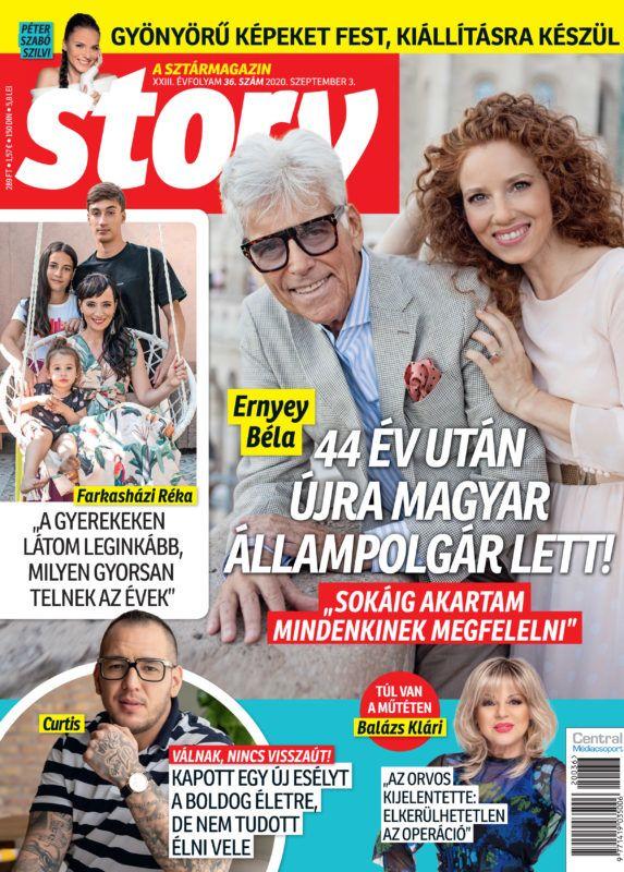 """""""Rengeteg bántást kaptunk a köztünk lévő korkülönbség miatt"""" – kifakadt Ernyey Béla és 38 évvel fiatalabb felesége"""