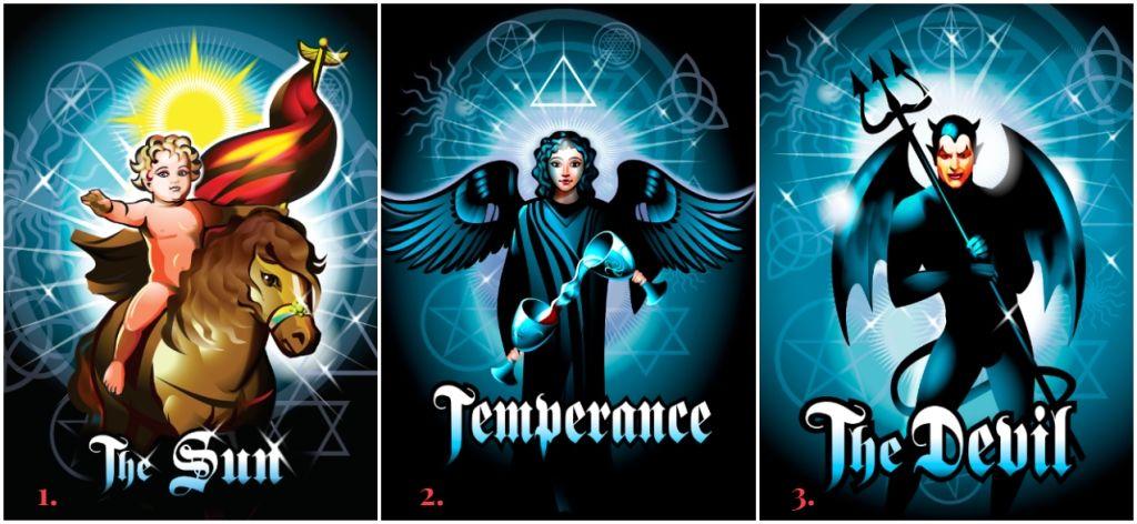 Szeptemberben a Nap, a Mértékletesség és az Ördög tarot kártyák jóslatát olvashatod