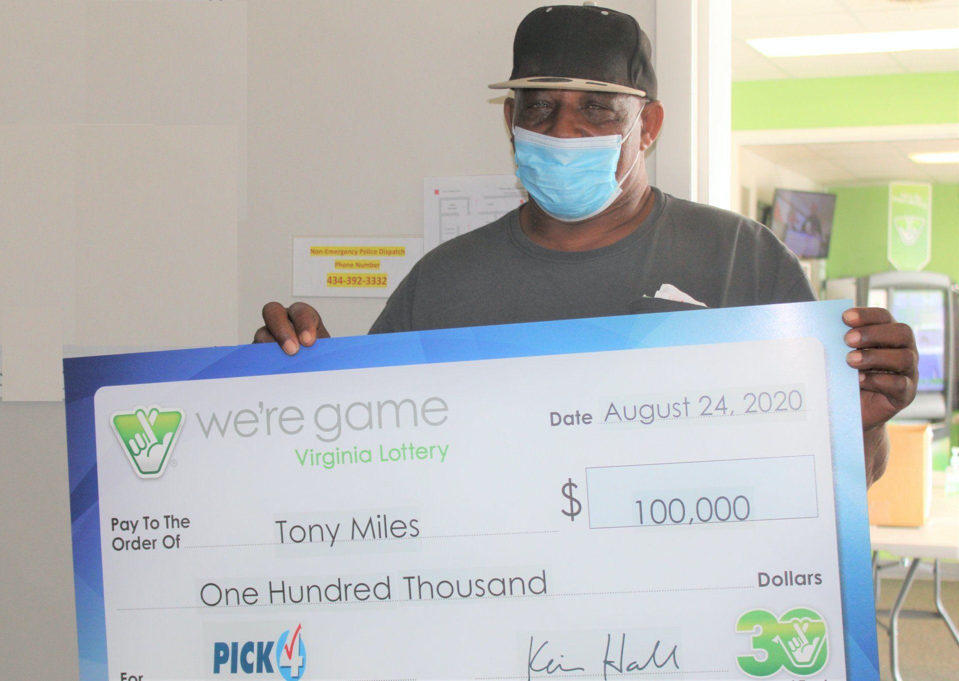 Tony Miles lottónyertes