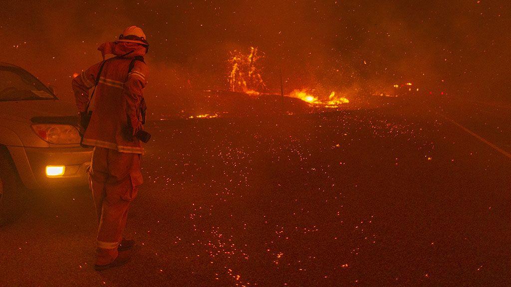Hatalmas erdőtűz pusztít az USA nyugati partján