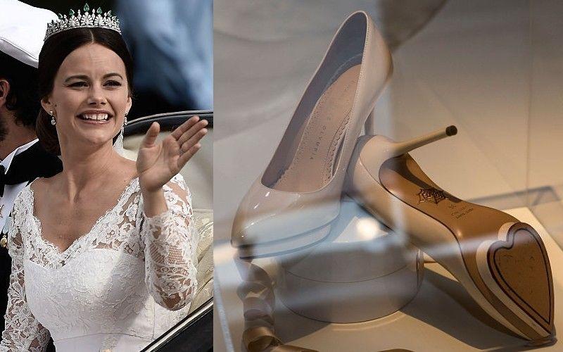 Sofia Hellqvist esküvői cipői