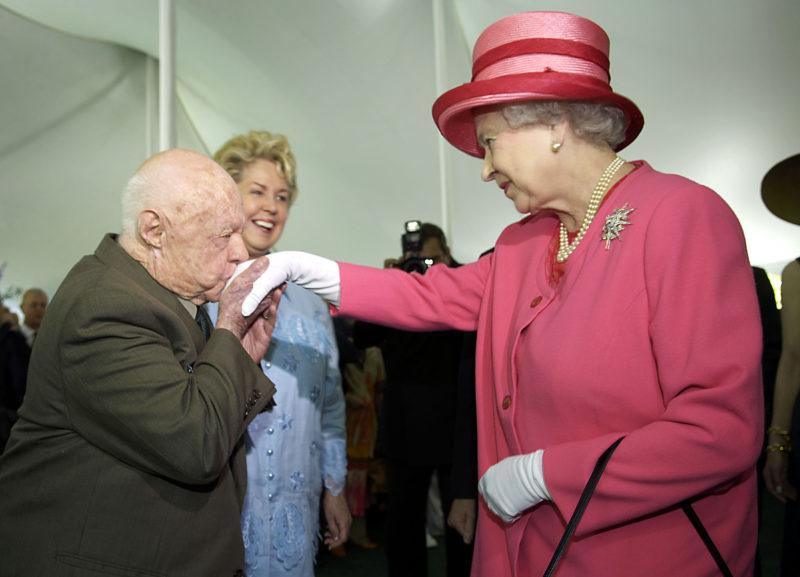 II. Erzsébet és Mickey Rooney