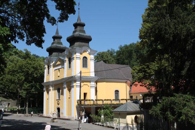 Mátraverebély szentkút templom