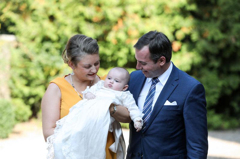 Károly luxemburgi herceg keresztelője