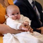 Vilmos herceg luxemburgi trónörökös fiának keresztelője