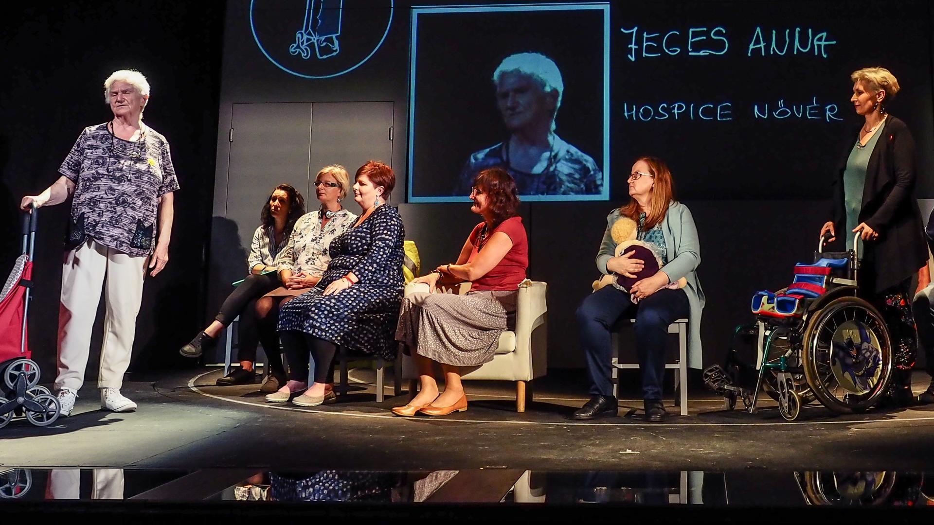 Örkény Színház Kiváló dolgozók ápoló nővér hospice civil
